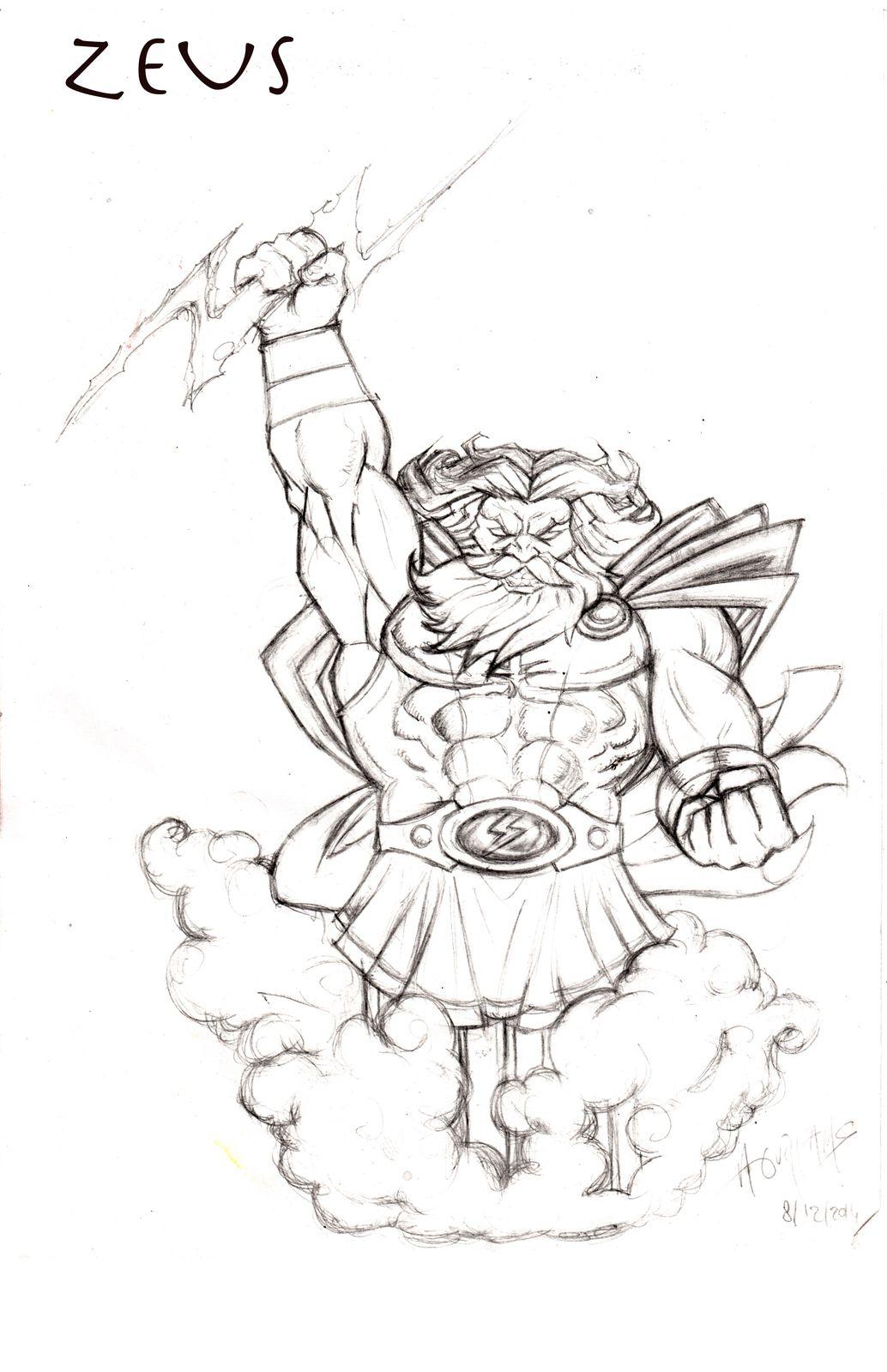 Bust Zeus