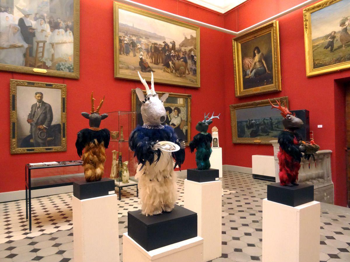 """exposition """"Métamorphoses oniriques"""" Musée Marie Petiet, Limoux, Aude"""