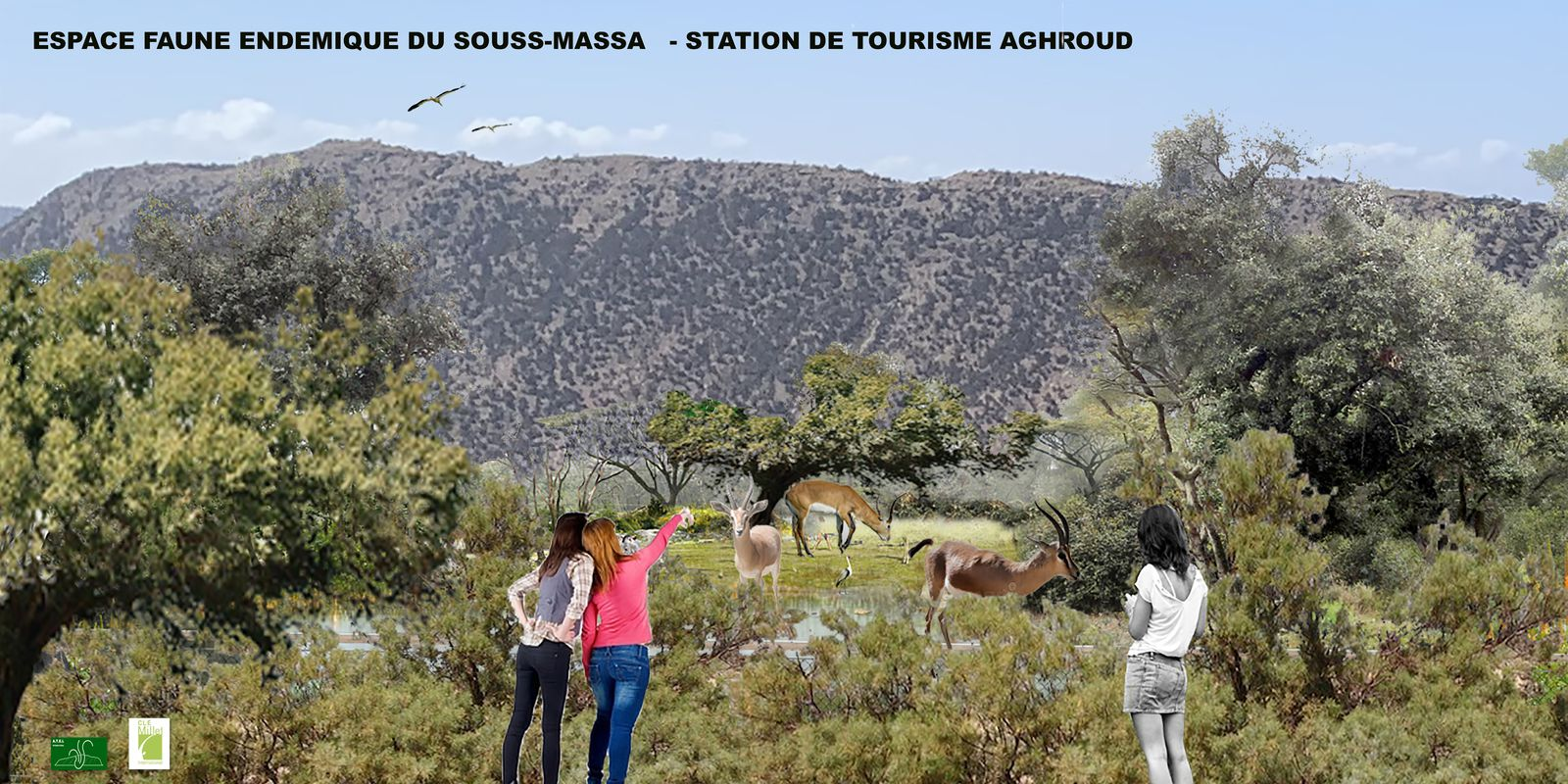 MASTER PLAN STATION TOURISTIQUE  - AGHROUD  - MAROC