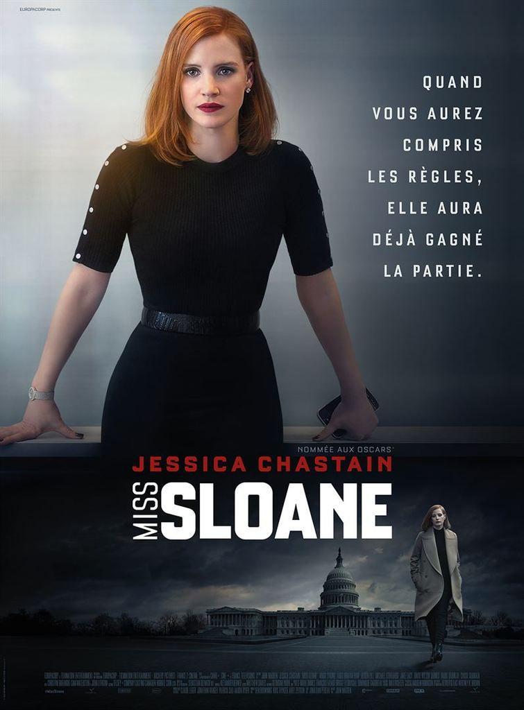 Critique Ciné : Miss Sloane (2017)