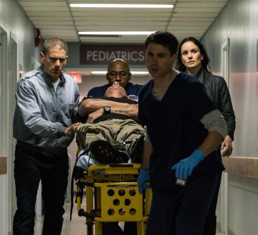 Critiques Séries : Prison Break. Saison 5. Episode 9.