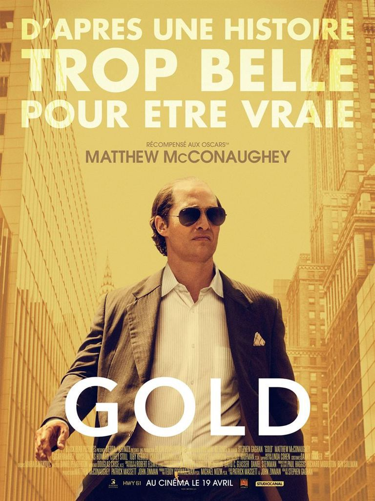 Critique Ciné : Gold (2017)