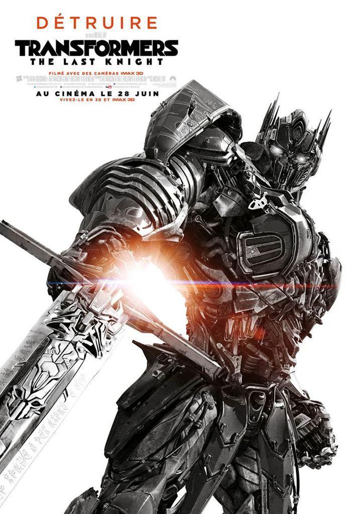 Critique Ciné : Transformers 5 : The Last Knight (2017)