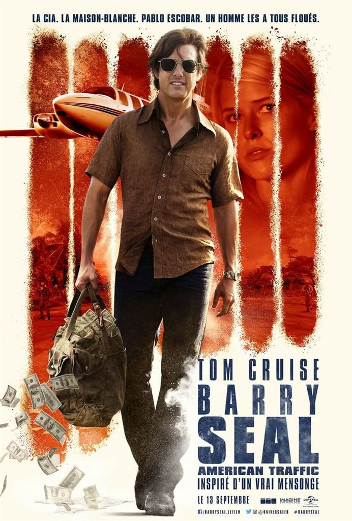 Critique Ciné : Barry Seal - American Traffic (2017)