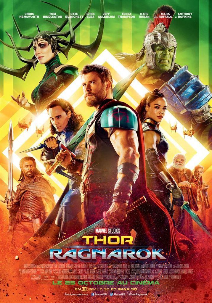 Critique Ciné : Thor 3 : Ragnarok (2017)