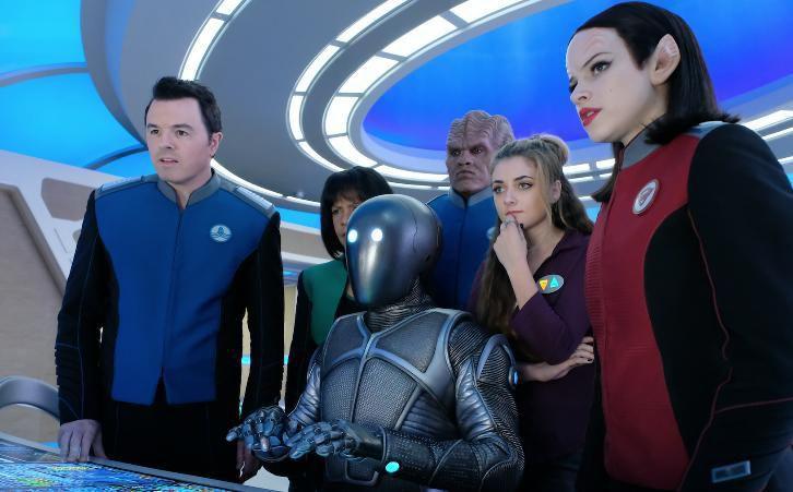 The Orville (Saison 1, épisodes 7 à 10) : pour l'amour de l'espace