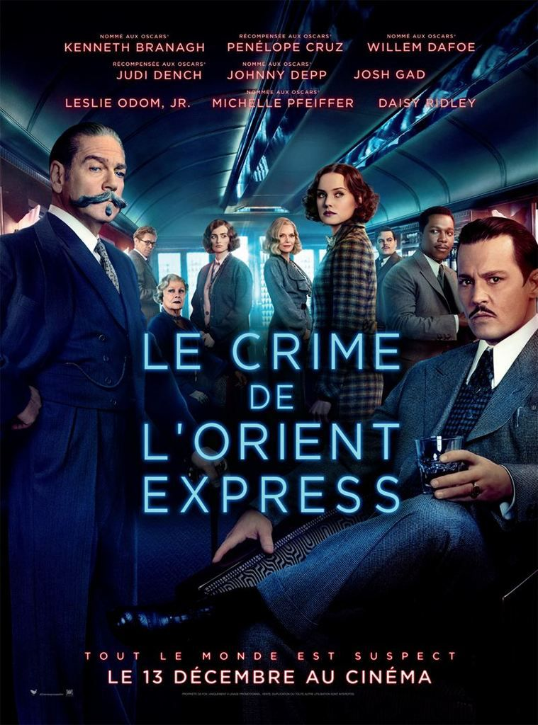 Critique Ciné : Le Crime de l'Orient Express (2017)