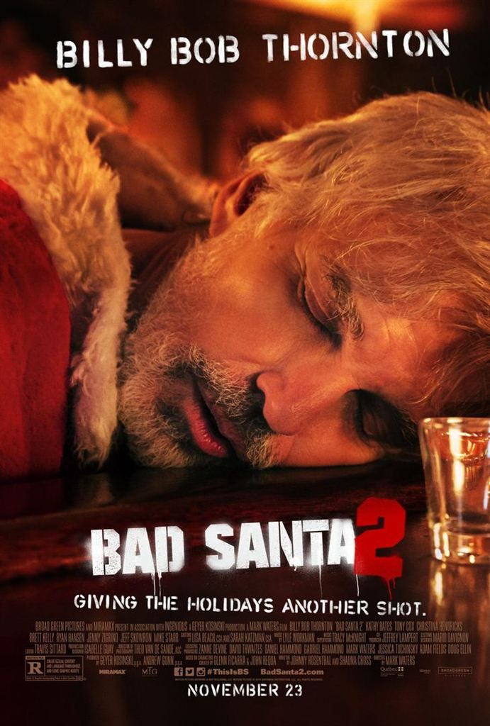 Critique Ciné : Bad Santa 2 (2017)