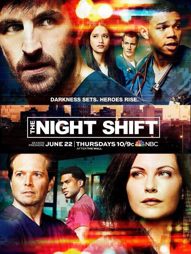 The Night Shift (Saison 4, 10 épisodes) : l'urgence de sauver des vies...