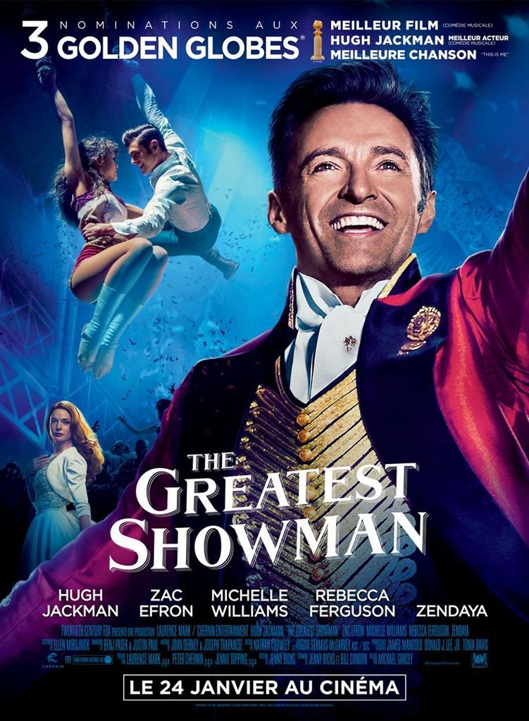 Critique Ciné : The Greatest Showman (2018)