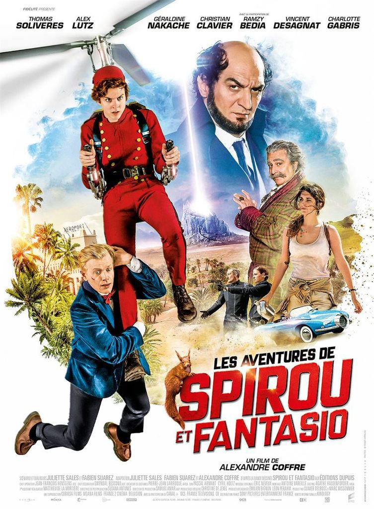 Critique Ciné : Les Aventures de Spirou et Fantasio (2018)