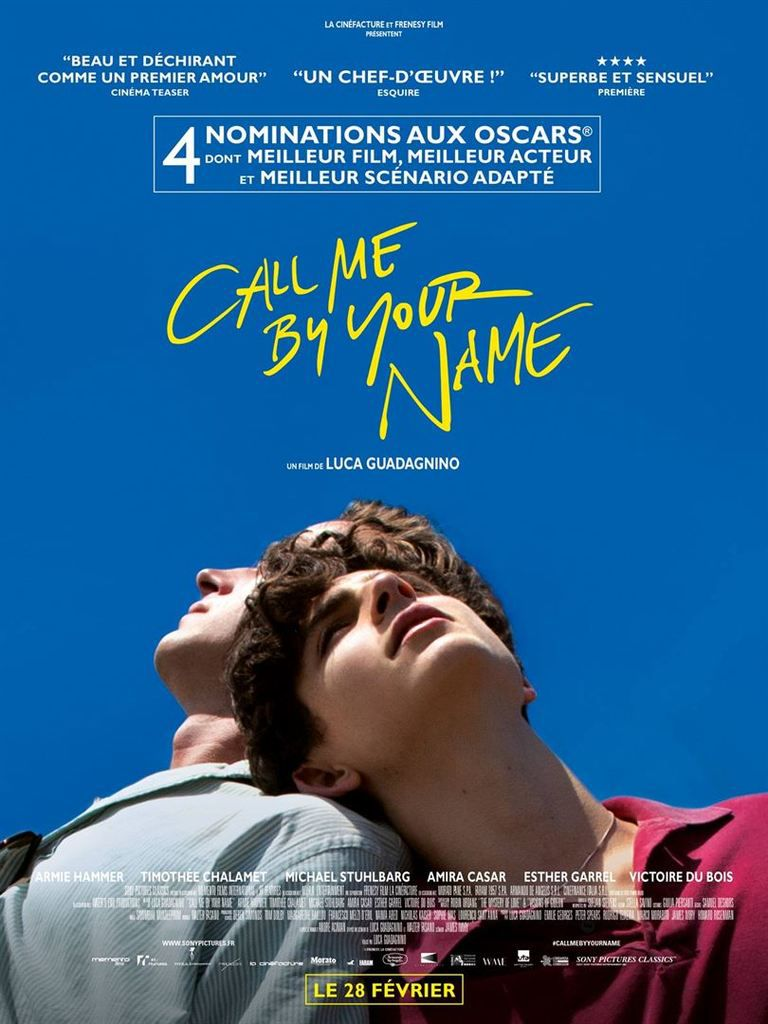 Critique Ciné : Call Me By Your Name (2018)