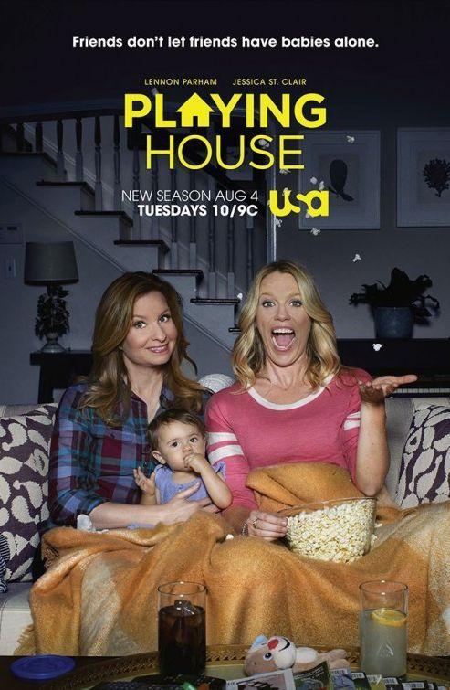 Playing House (Saison 3, 8 épisodes) : finir son histoire dans le bonheur...