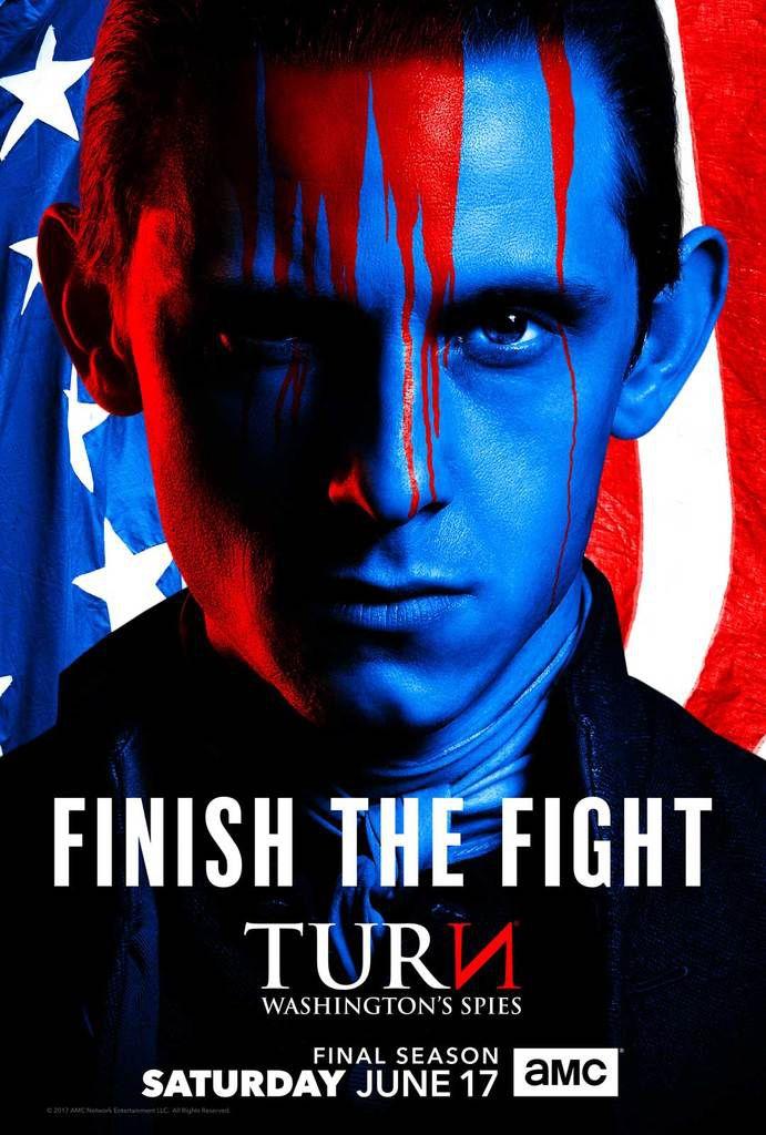 TURN : Washington's Spies (Saison 4, 10 épisodes) : la fin d'une Révolution