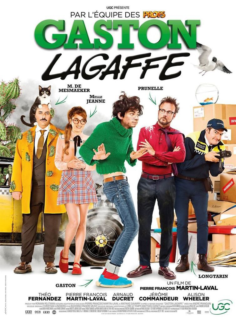 Critique Ciné : Gaston Lagaffe (2018)