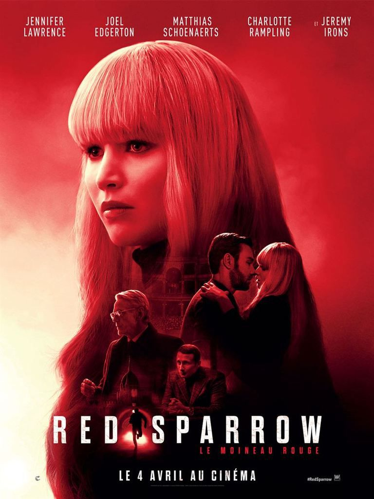 Critique Ciné : Red Sparrow (2018)