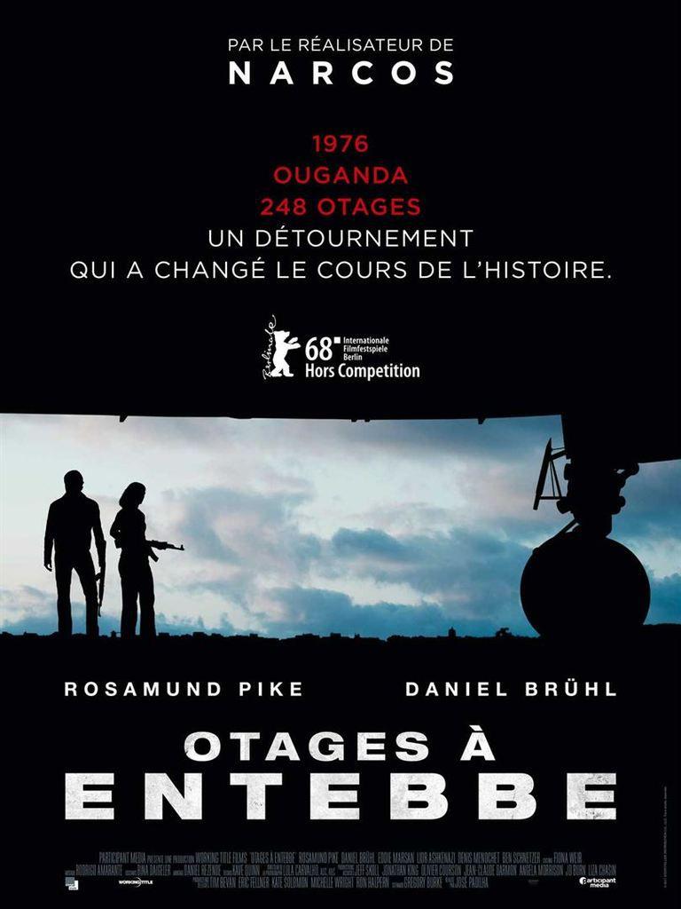 Critique Ciné : Otages à Entebbe (2018)