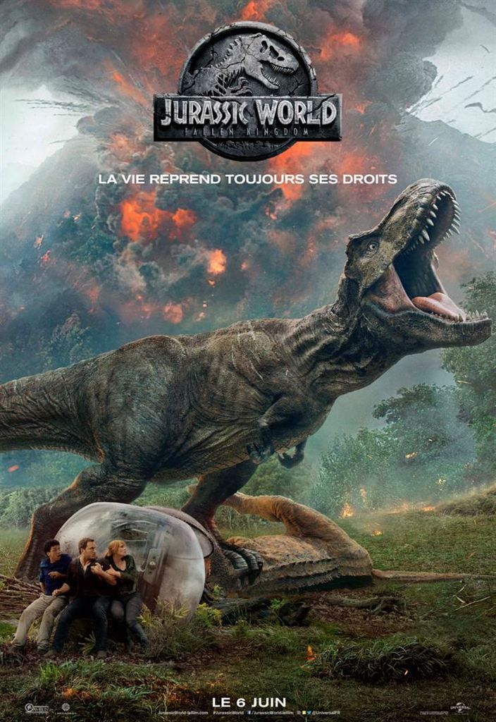 Critique Ciné : Jurassic World - Fallen Kingdom (2018)