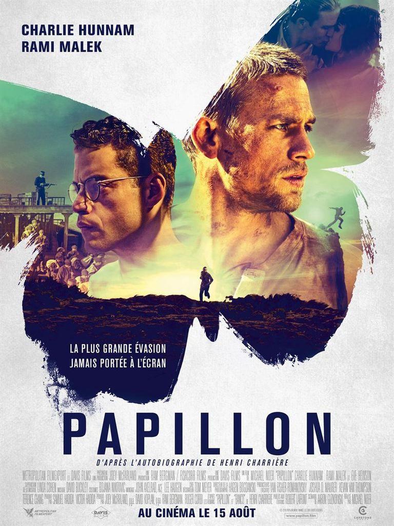 Critique Ciné : Papillon (2018)