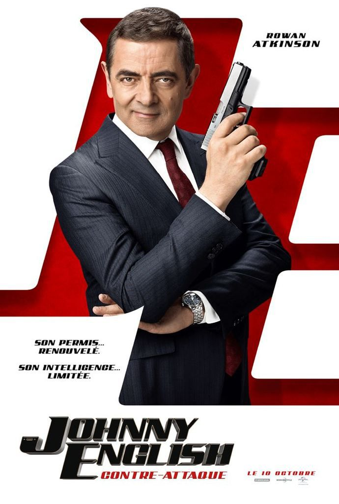 Critique Ciné : Johnny English 3 contre attaque (2018)