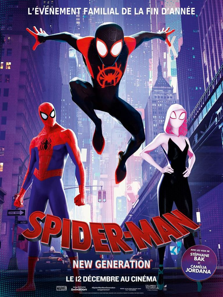 Critique Ciné : Spider-Man - New Generation (2018)