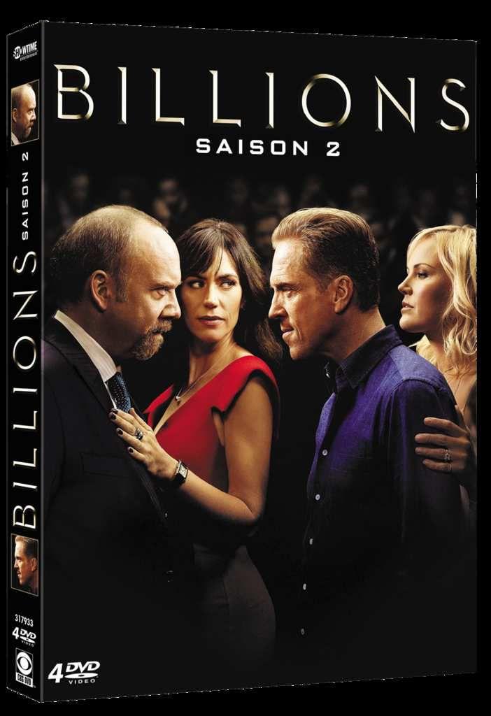 La saison 2 de Billions en DVD le 9 janvier 2019 !