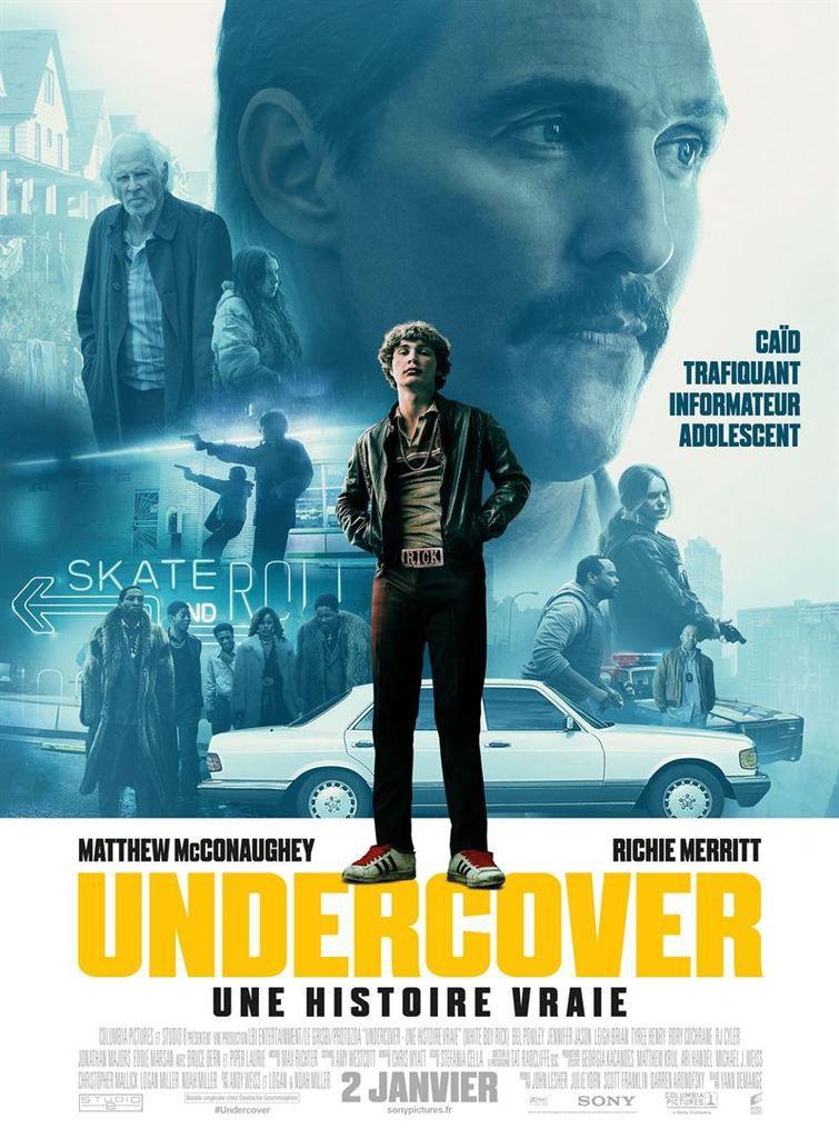 Critique Ciné : Undercover - Une histoire vraie (2019)