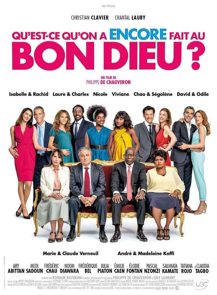 Critique Ciné : Qu'est ce qu'on a encore fait au Bon Dieu ? (2019)