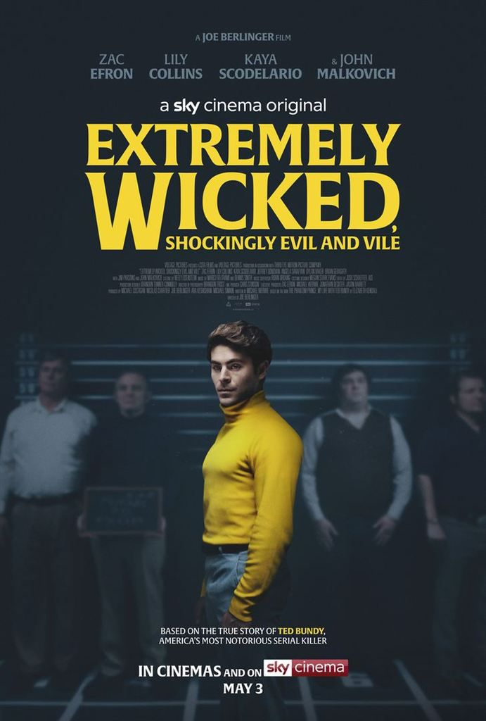 Critique Ciné : Extremely Wicked, Shockingly Evil and Vile (2019, Netflix)