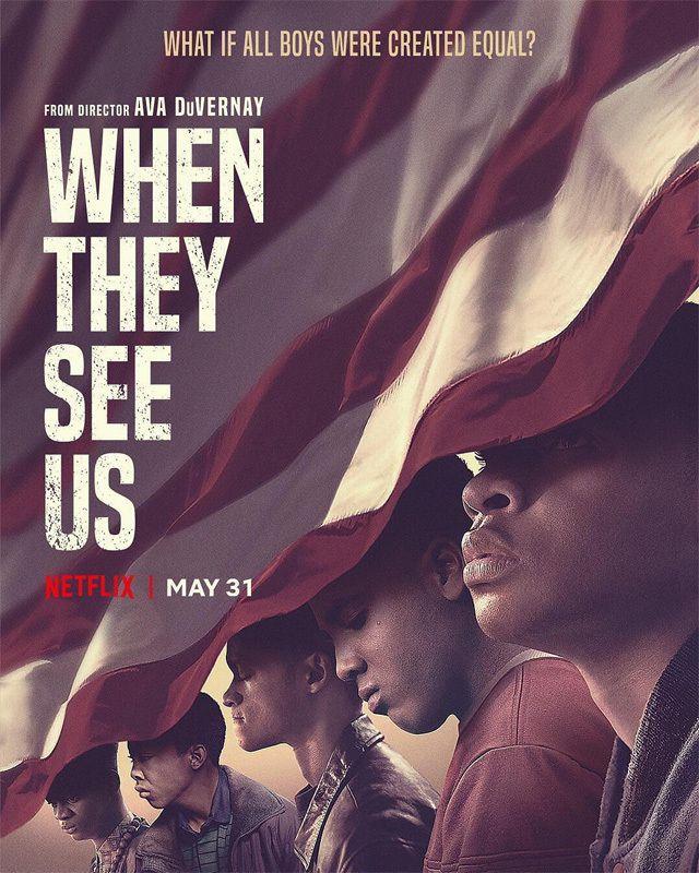 When They See Us - Dans leur regard (Mini-series, 4 épisodes) : American Injustice