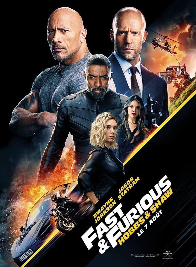 Critique Ciné : Fast & Furious : Hobbs & Shaw (2019)