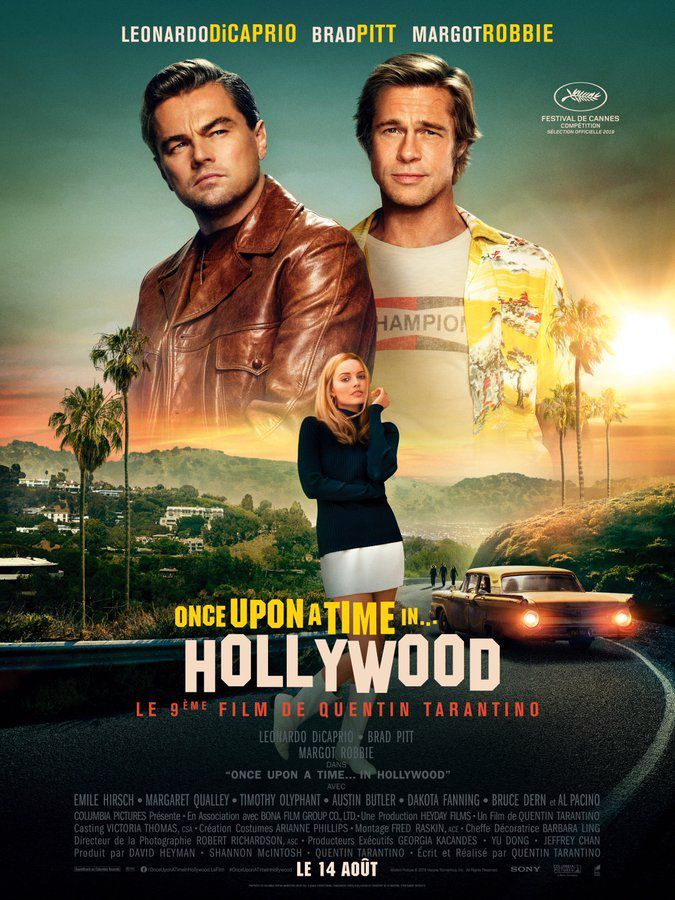 Critique Ciné : Once Upon a Time in… Hollywood (2019)