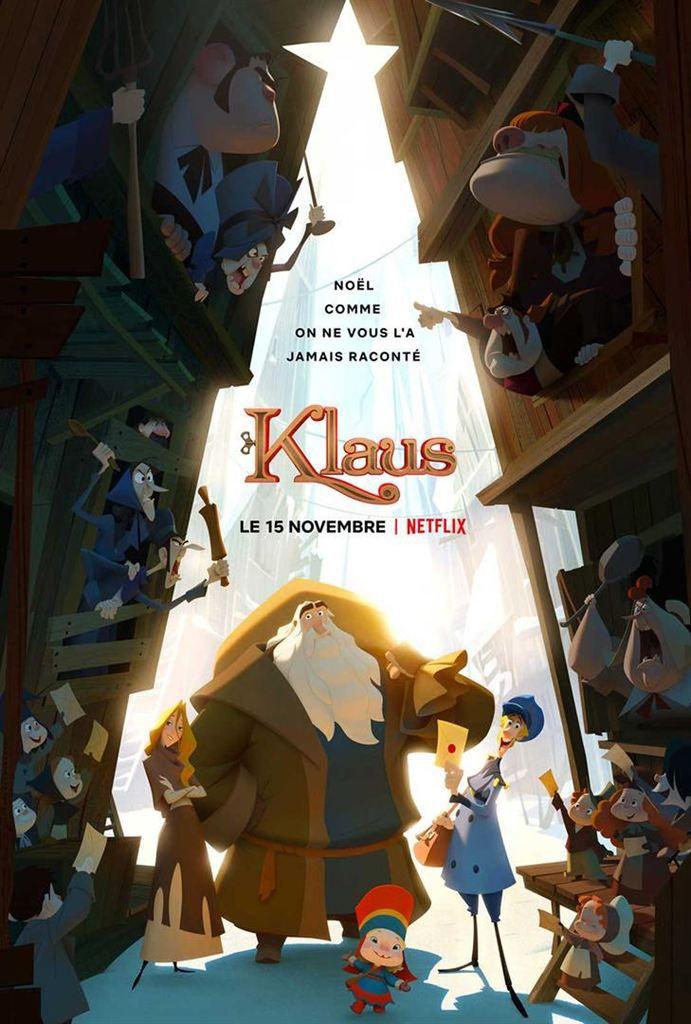 Critique Ciné : Klaus (2019, Netflix)