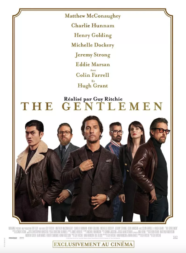 Critique Ciné : The Gentlemen (2020)