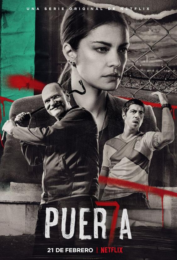 Puerta 7 - Porte 7 (Saison 1, 8 épisodes) :football mafia à Buenos Aires