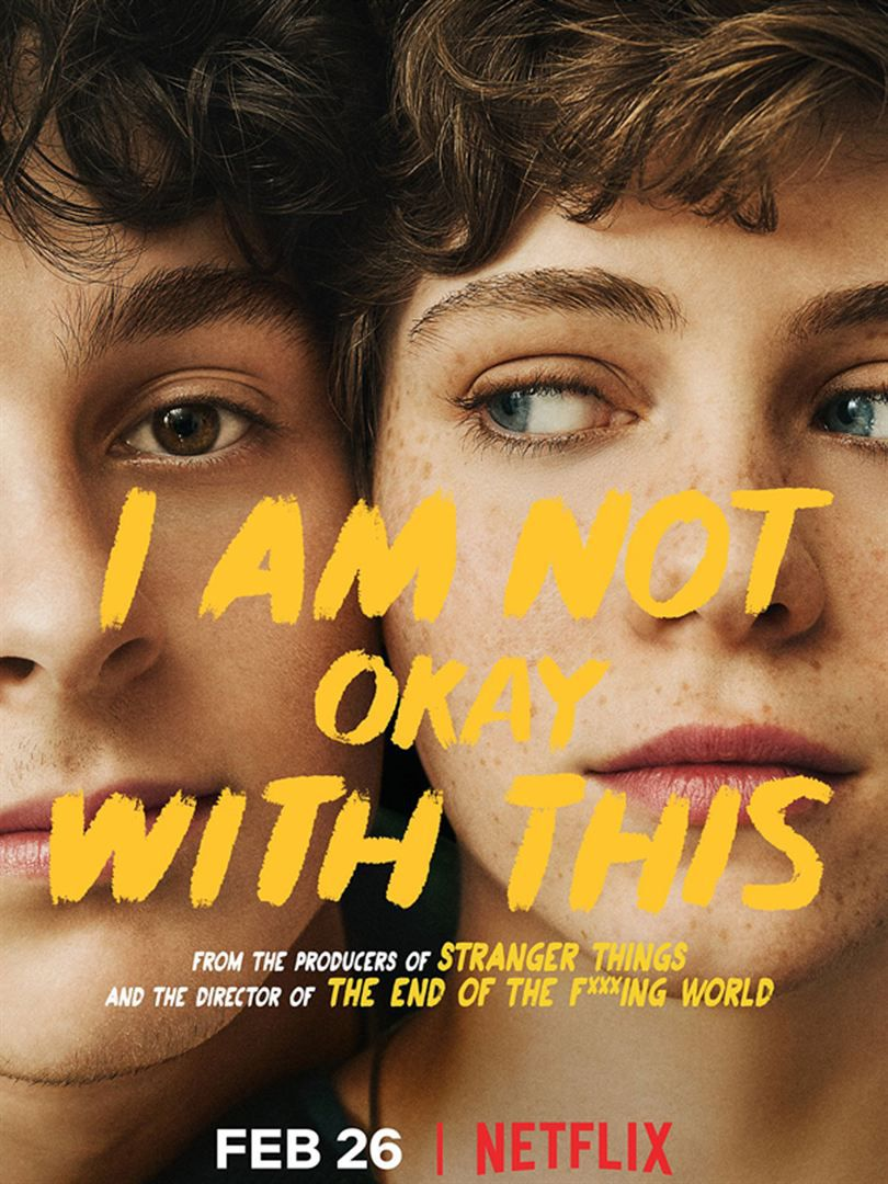 I Am Not Okay with This (Saison 1, 7 épisodes) : héroïne attachante pour série un peu chiante