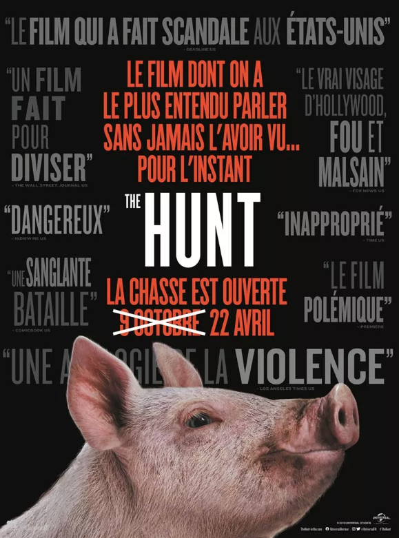 Critique Ciné : The Hunt (2020)