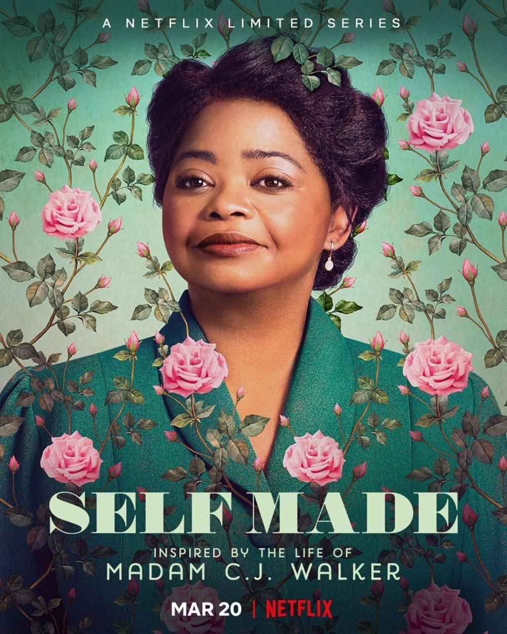 Self Made : Inspired by Life of Madam CJ Walker (Mini-series, 4 épisodes) : rêve américain au féminin