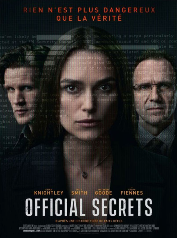 Critique Ciné : Official Secrets (2020)