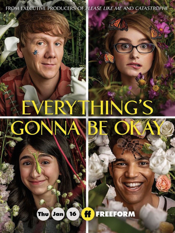 Everything's Gonna Be Okay (Saison 1, 10 épisodes) : la vie à trois