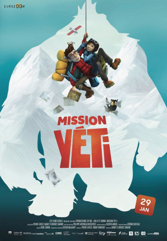 Critique Ciné : Mission Yéti (2020)
