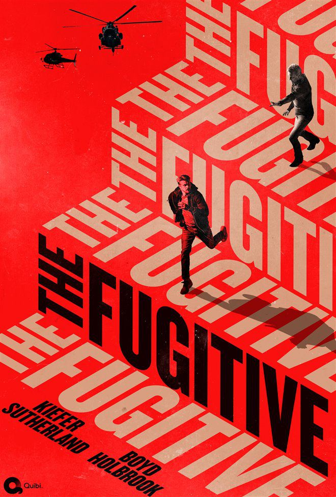 The Fugitive (Saison 1, 14 épisodes) : il court il court le furet...