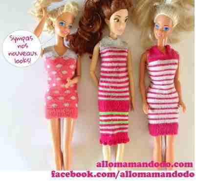 Habillez votre Barbie !
