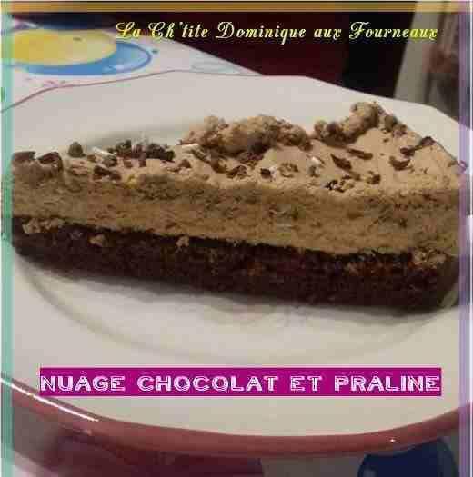 Le nuage chocolat praline de Dominique