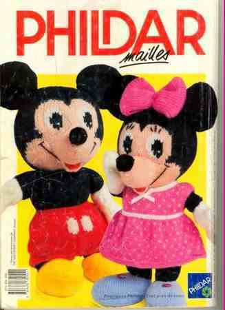 Mickey et Minnie au tricot