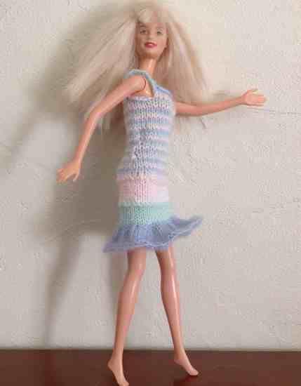 Défilé Barbie et Ken chez Dominique