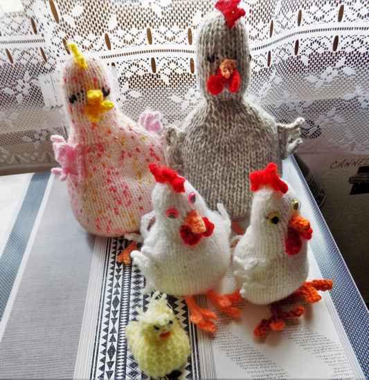 Les poulettes de Chantal
