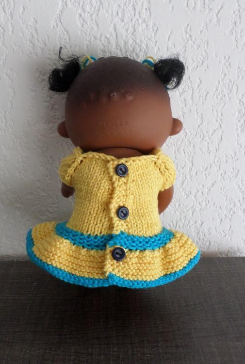 Tina et sa première tenue !