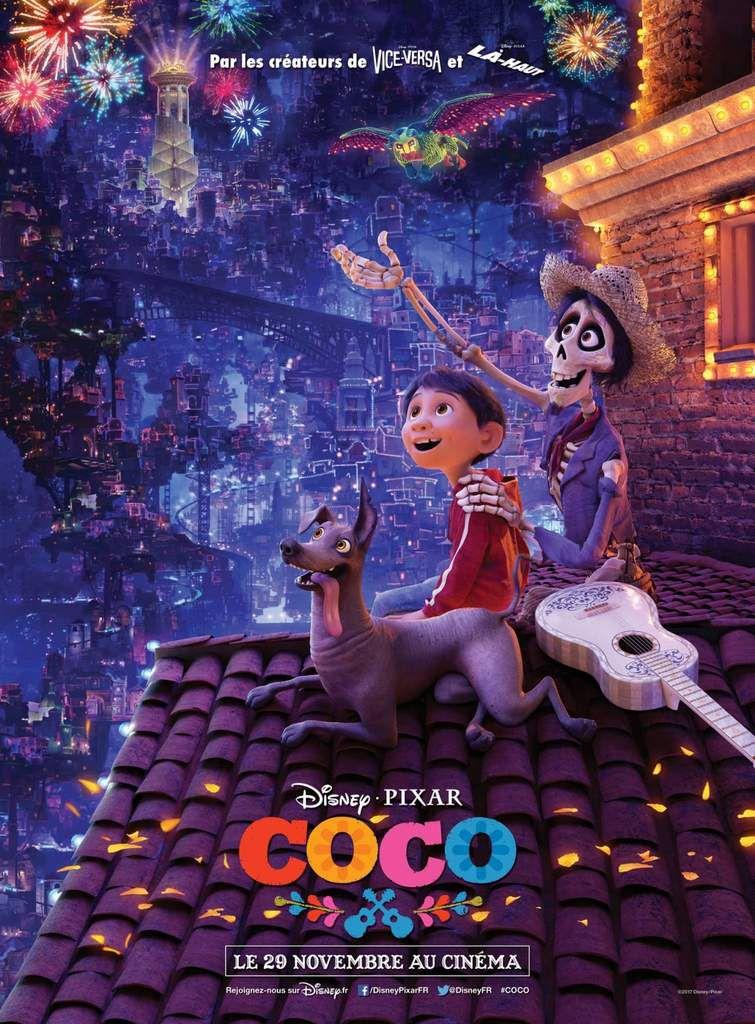 CINEMA  pour terminer les vacances de Noël : COCO vendredi 5 janvier à 14h30