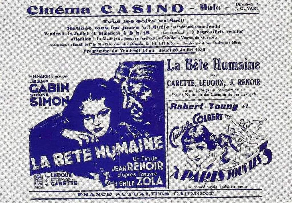 (39) Publicités Anciennes Dunkerque